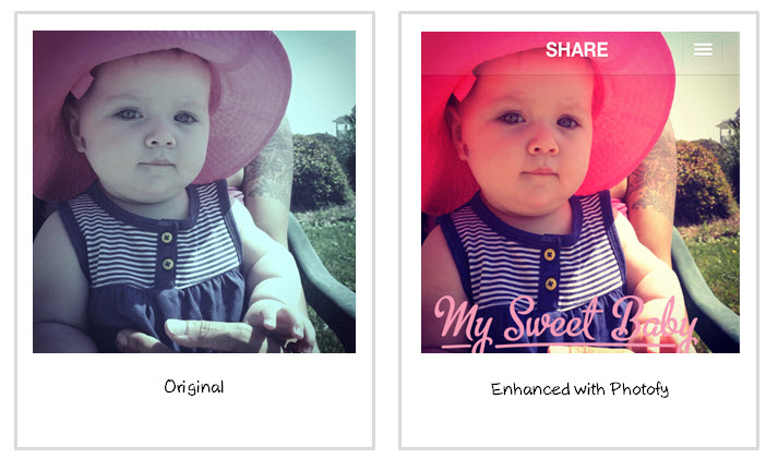 Enhancing with Photofy