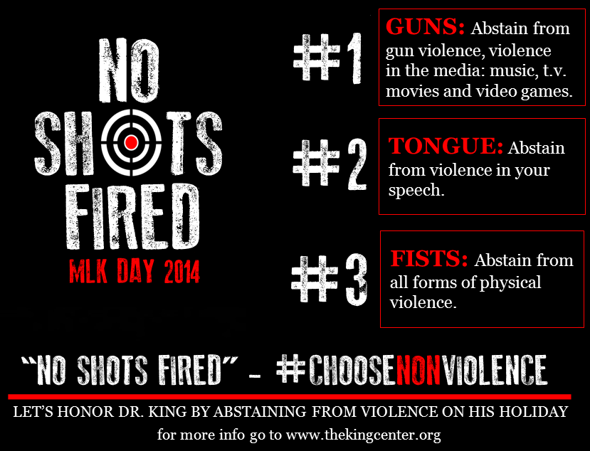 #choosenonviolence