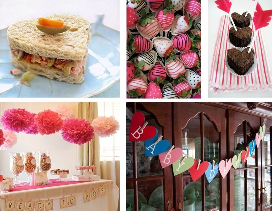 Valentine's Day Baby Shower Ideas