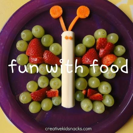 Fun Food Stickers